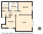 Floorplan of Harley Lane, Heathfield, E.Sussex, TN21 8GD