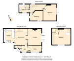 Floorplan of Sandy Cross Cottages, Sandy Cross Lane, Heathfield, East Sussex, TN21 8QH